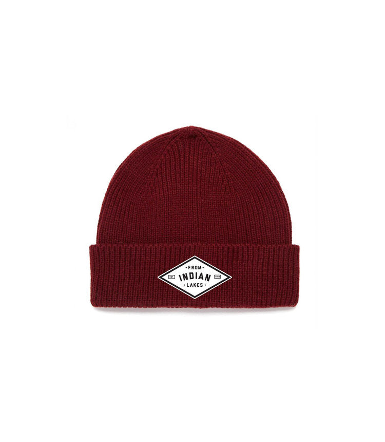0c16a495a7d Maroon Beanie – From Indian Lakes Store