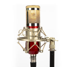 Studio Microphone Desk Lamp - Cherry Red - Microphone Mania