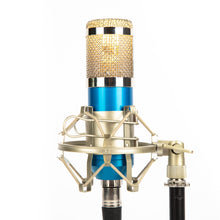 Studio Microphone Desk Lamp - Lagoon Blue