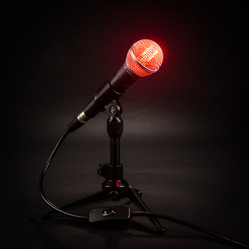 Shure SM58 Desk Lamp - On Air Edition - Microphone Mania