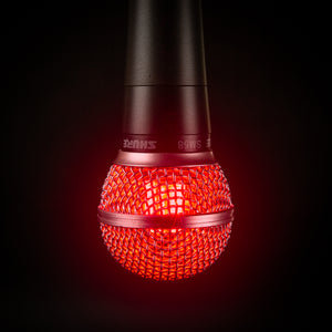 Hanging Shure SM58 Lamp - On Air Edition - Microphone Mania