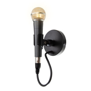 SM58 Wall Lamp - Microphone Mania