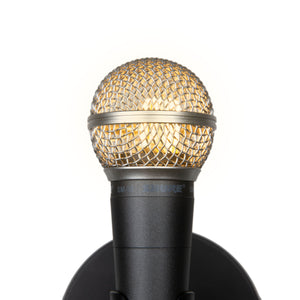 Shure SM58 Wall Lamp - Microphone Mania
