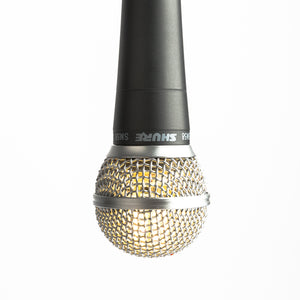 Hanging Shure SM58 Lamp - Microphone Mania