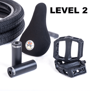 UPGRADE KIT      LEVEL 2           (BLACK)