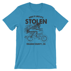 RIDE IT LIKE ITS STOLEN TEE (LIGHT)