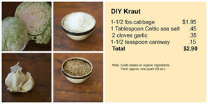 DIY Kraut vs. Store Bought