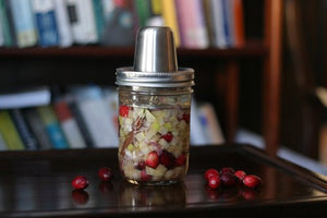 Fermented Cranberry-Apple Relish