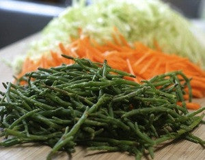 Fermented Samphire with Cabbage & Carrots