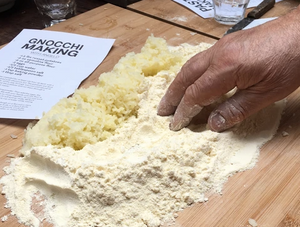 Sept 12, 2020 - Making Gnocchi with Angelo & Karen (RECORDING AVAILABLE)