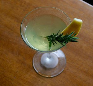 Lemoncello Rosemary Cultured Cocktail