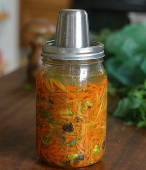 Mustard Blossoms with Carrots & Raisins