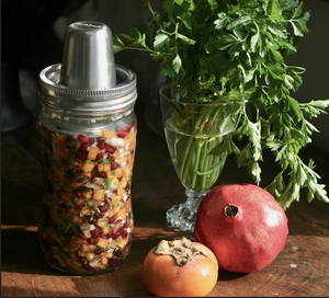 Fermented Persimmons & Pomegranate Relish