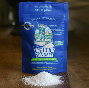 Celtic Sea Salt - Fine Ground 1/4 lb.