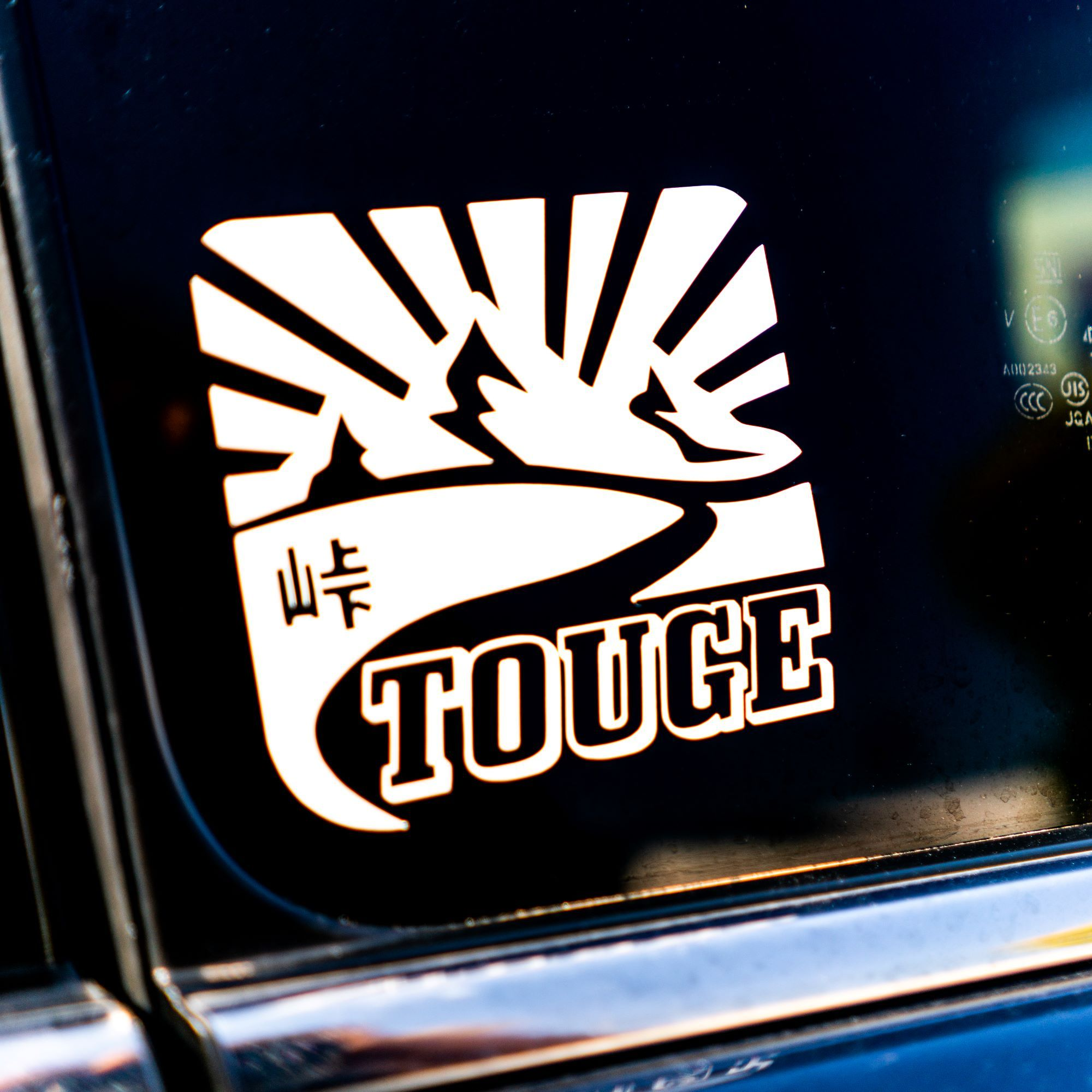 Touge Decal