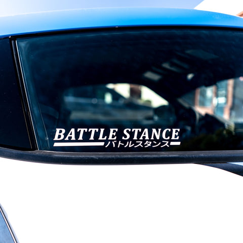 Battle Stance Decal