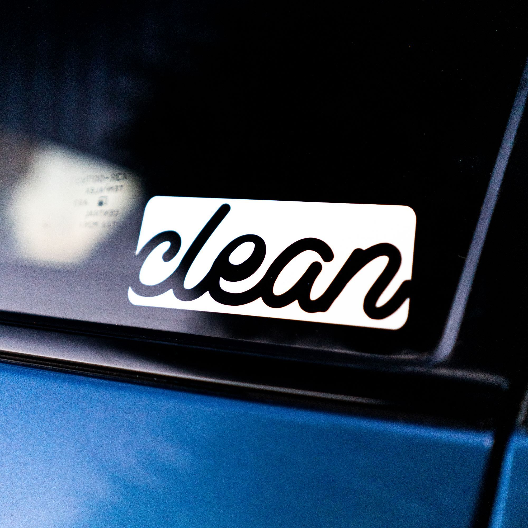 REV Clean Decal