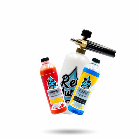 REV Foam Bazooka + Soap Bundle