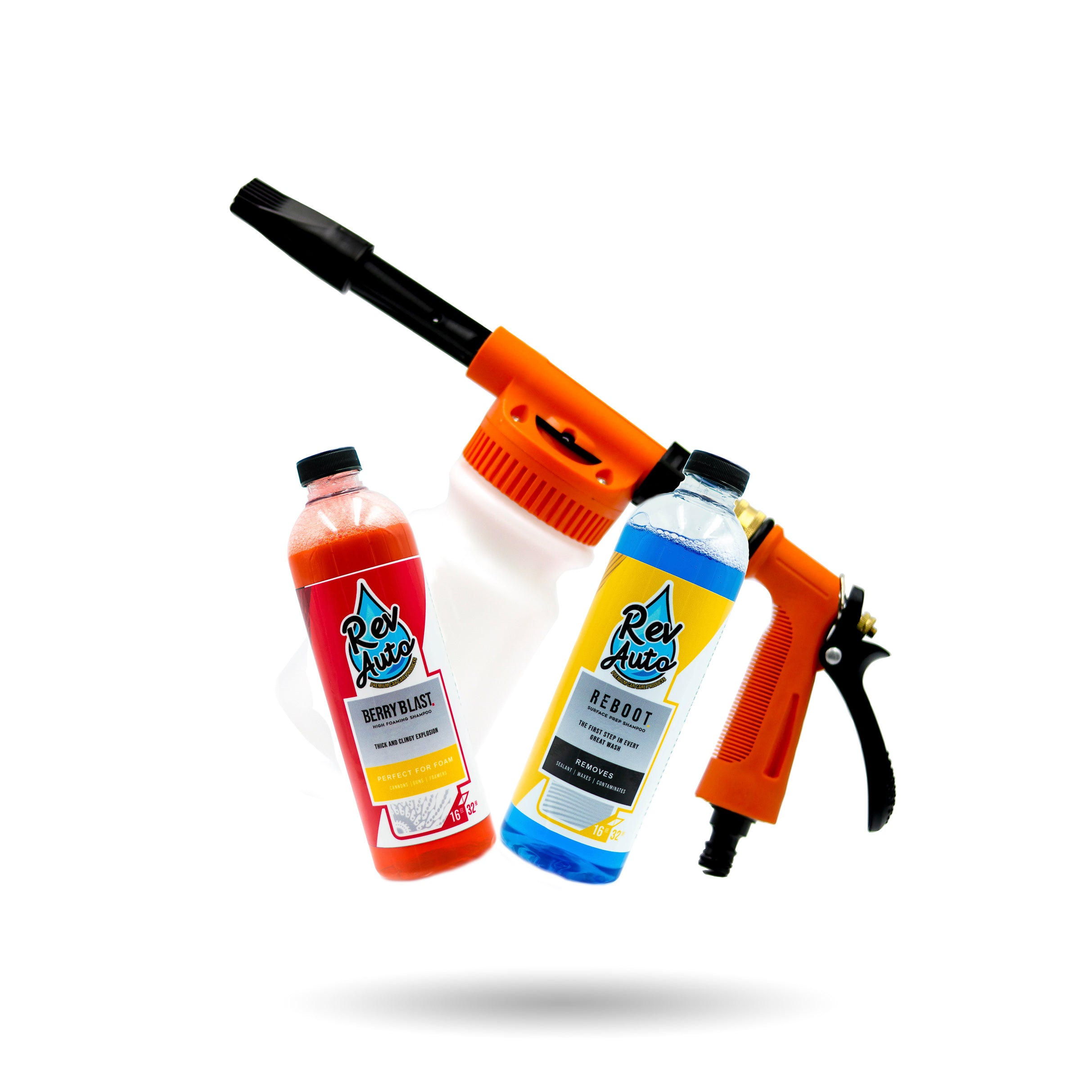 FoMas Foam Gun + Soap Bundle
