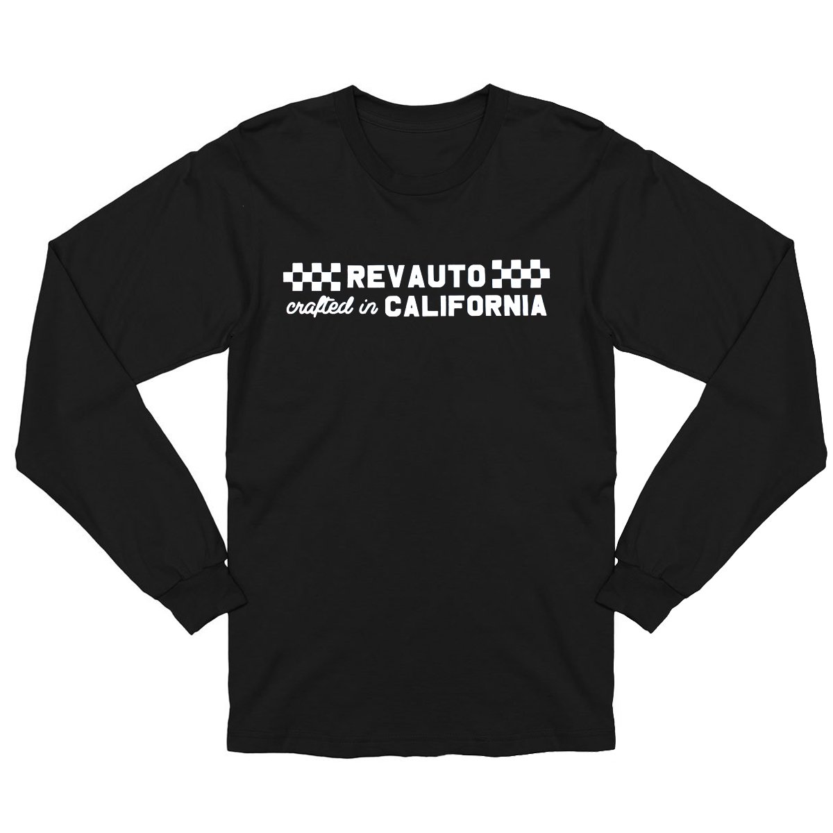 REV California Black Long-Sleeve Tee