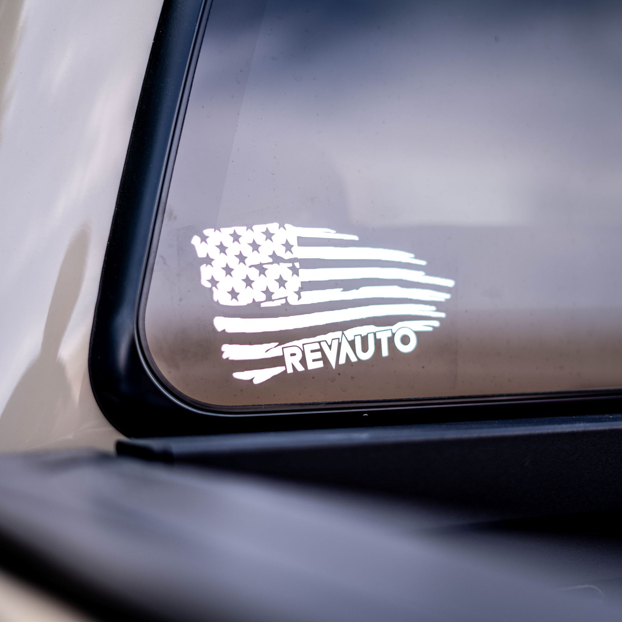 REV Flag Decal
