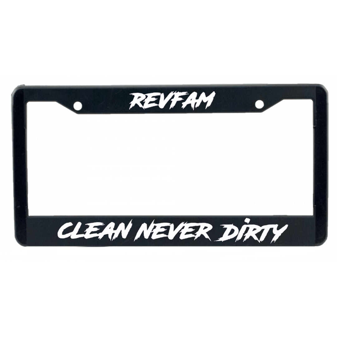 REV AUTO License Plate Frame