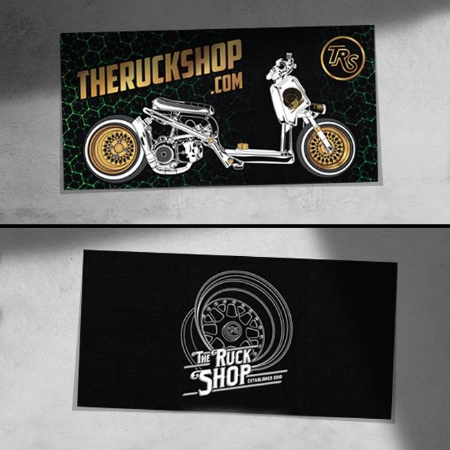 Your Ride Custom Rev Banner!
