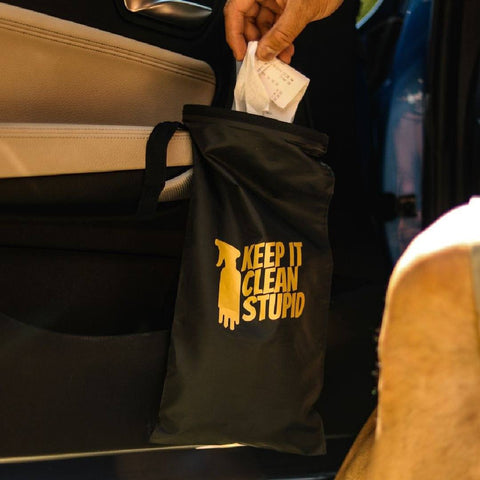 Keep It Clean Stupid - Trash Tote
