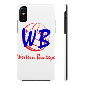 Western Buckeye Case Mate Tough Phone Case