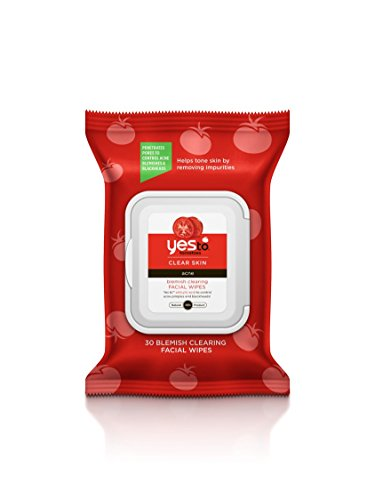 Yes To Tomatoes Blemish Clearing Facial Towelettes, 30 Count