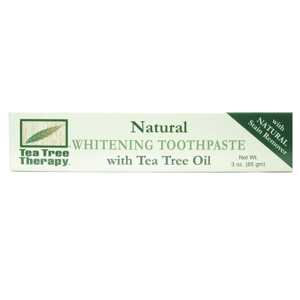 Tea Tree Therapy Natural Whitening Toothpaste, 3 oz.