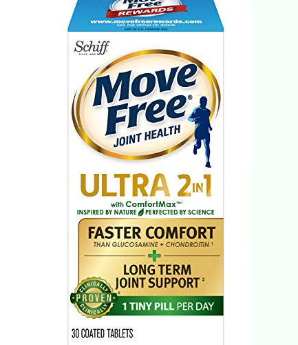 Move Free Ultra 2 in 1 with Comfort Max, Clinically Proven Joint Support 30 each
