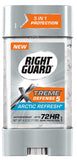Right Guard Xtreme Total Defense 5 Power Gel, Arctic Refresh, 4oz