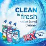 Lysol Clean & Fresh Toilet Bowl Cleaner Twin Pack, Country Scent, 48 Fluid Ounces
