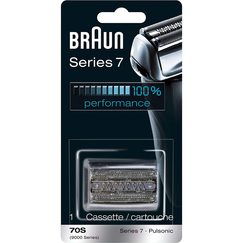 Braun 70S  Replacement Foil & Cutter Cassette Series 7 Shavers, Pulsonic 9000 Series