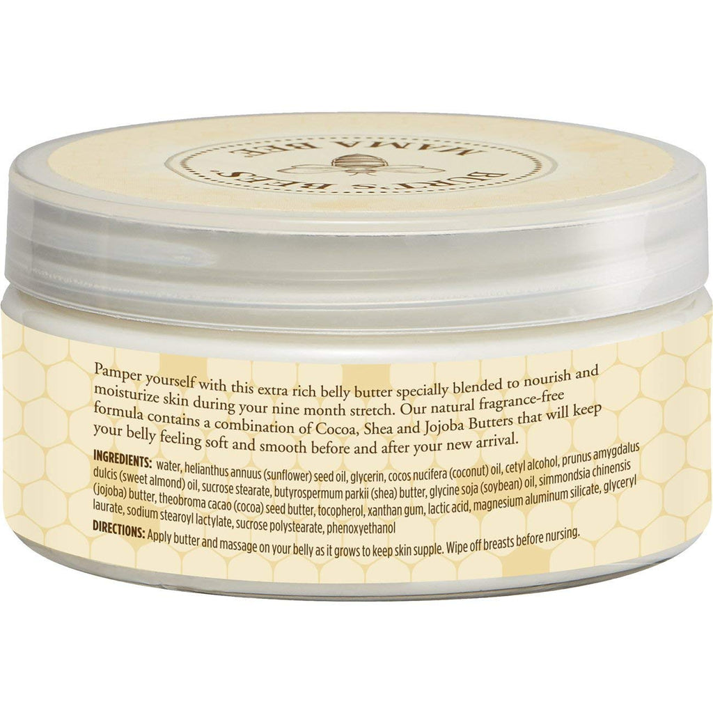 Burt's Bees Mama Bee Belly Butter, Shea Butter & Vitamin E, 6.5 oz