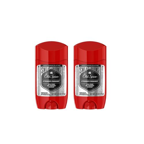 Old Spice Anti-Perspirant 2.6 Ounce Stronger Swag Soft Solid (76ml) (2 Pack)