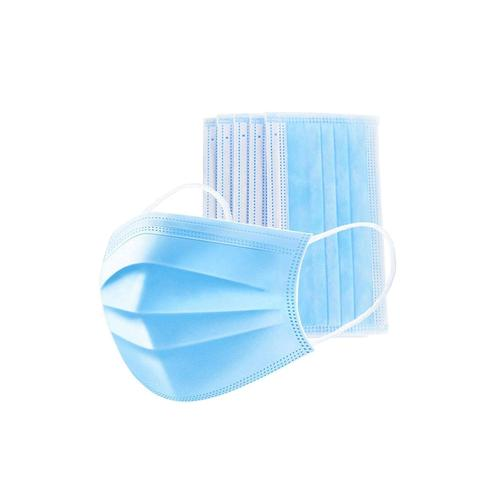 Disposable Face Mask, 3-Ply Facial Cover Masks with Ear Loop 50ct