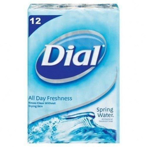 Dial Spring Water, Soap Bar, 12 Count
