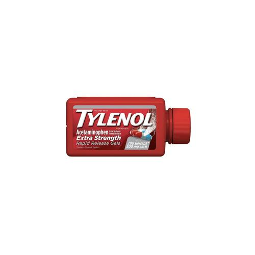 Tylenol Extra Strength Rapid Release Gels 500mg 290 Count