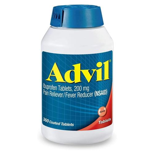 Advil Pain Reliever/Fever Reducer, 200mg Ibuprofen - 360 Count