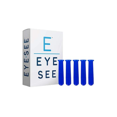 EyeSee Hard Contact Lens Remover and Applicator Hollow RGP Plunger - Box of 5 (Blue)