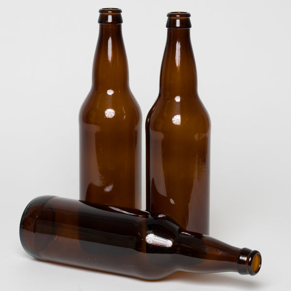 Bottles, 650 mL Bomber-style amber beer (Case of 12)