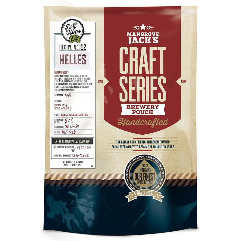 Mangrove Jack's Craft Series Helles with Dry Hops