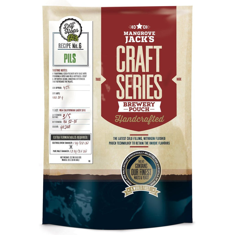 Mangrove Jack's Craft Series Pils with Dry Hops