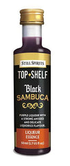 Still Spirits Top Shelf Black Sambuca Flavour 50 mL
