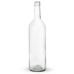 Bottles, 750mL Colourless Bordeaux (Case of 12)