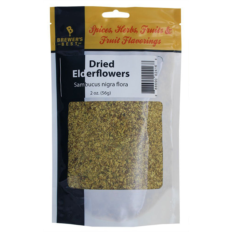 Dried Elderflowers, 56g