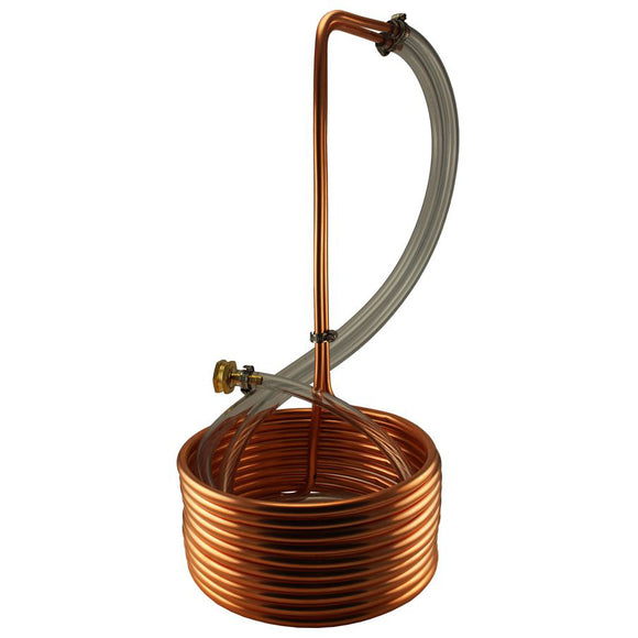 25' Copper Immersion Chiller