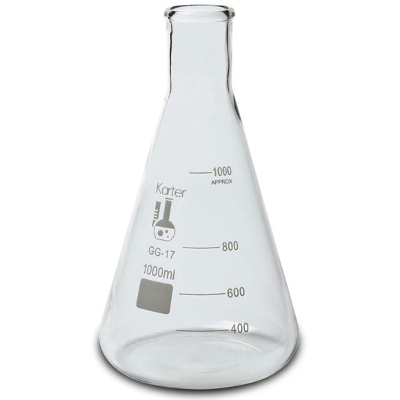 Glass Erlenmeyer Flasks